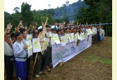 New logging road blockades aim at protecting the Penan Peace Park